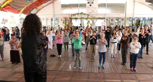 רוני ויסמן - סדנה פתוחה לקהל הרחב - נעים בכיכר בנתניה