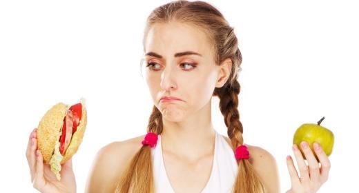 דיאטה, הרזיה ותזונה בריאה בגיל ההתבגרות