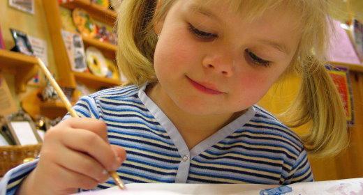 כיצד לצייר באופן אינטואיטיבי יחד עם ילדיך
