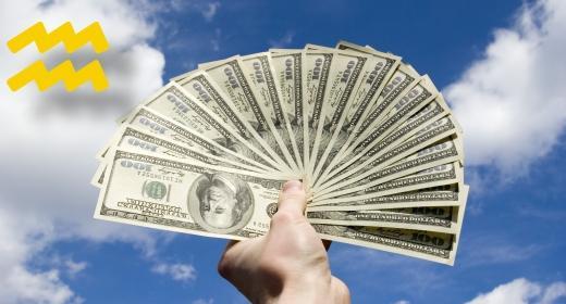 על המזל האסטרולוגי ויחסו לרכוש ולכסף - מזל דלי