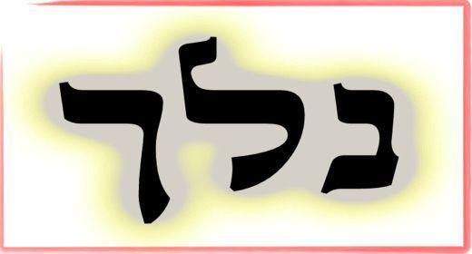 """תורת הקבלה: ע""""ב שמות. משמעות צרוף האותיות- נ.ל.ך"""