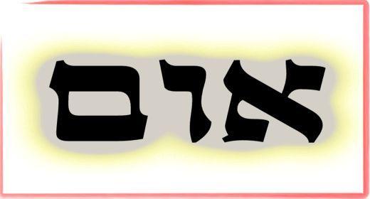 """תורת הקבלה: ע""""ב שמות. משמעות צרוף האותיות- א.ו.ם"""
