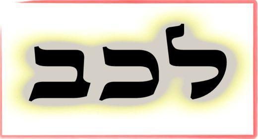 """תורת הקבלה: ע""""ב שמות. משמעות צרוף האותיות- ל.כ.ב"""