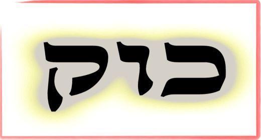 """תורת הקבלה: ע""""ב שמות. משמעות צרוף האותיות- כ.ו.ק"""