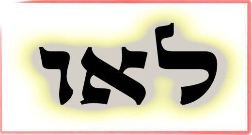 """תורת הקבלה: ע""""ב שמות. משמעות צרוף האותיות- ל.א.ו"""