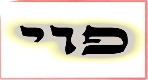 """תורת הקבלה: ע""""ב שמות. משמעות צרוף האותיות- פ.ו.י"""