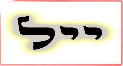 """תורת הקבלה: ע""""ב שמות. משמעות צרוף האותיות- י.י.ל"""