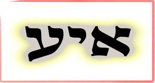 """תורת הקבלה: ע""""ב שמות. משמעות צרוף האותיות- א.י.ע"""