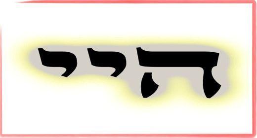 """תורת הקבלה: ע""""ב שמות. משמעות צרוף האותיות- ה.י.י"""