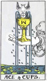 משמעות קלף אס הגביעים בקריאה בקלפים