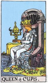 משמעות קלף מלכת הגביעים בקריאה בקלפים