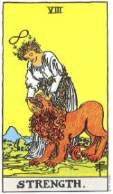 משמעות קלף הכוח בקריאה בקלפים