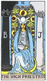 משמעות קלף הכוהנת הגדולה בקריאה בקלפים