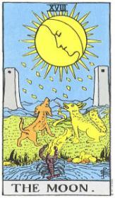 משמעות קלף הירח בקריאה בקלפים