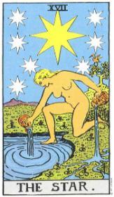 משמעות קלף הכוכב בקריאה בקלפים