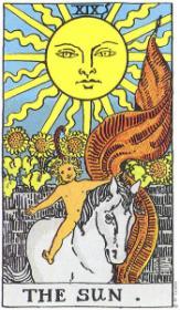 משמעות קלף השמש בקריאה בקלפים