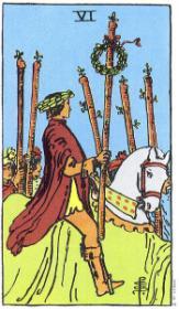 משמעות קלף ששת המטות בקריאה בקלפים