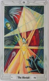 קלפי טארוט: קלף הנזיר