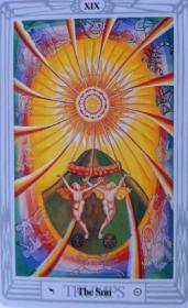קלפי טארוט: קלף השמש