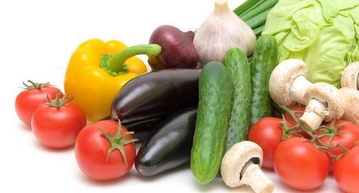 סגולות בריאותיות בחמישה צבעים