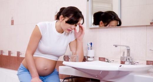 בחילות והקאות בהריון