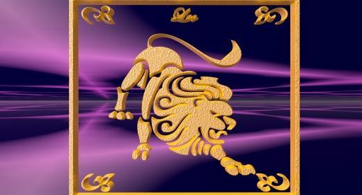 מזל אריה וסמליות הצבע הכתום