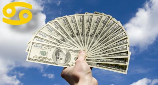 על המזל האסטרולוגי ויחסו לרכוש ולכסף - מזל סרטן