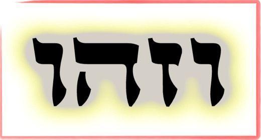 """תורת הקבלה: ע""""ב שמות. משמעות צרוף האותיות- ו.ז.ה.ו"""