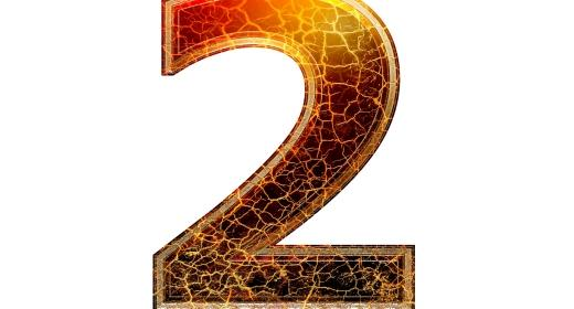 התאמה נומרולוגית למספרי 2