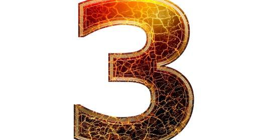 התאמה נומרולוגית למספרי 3