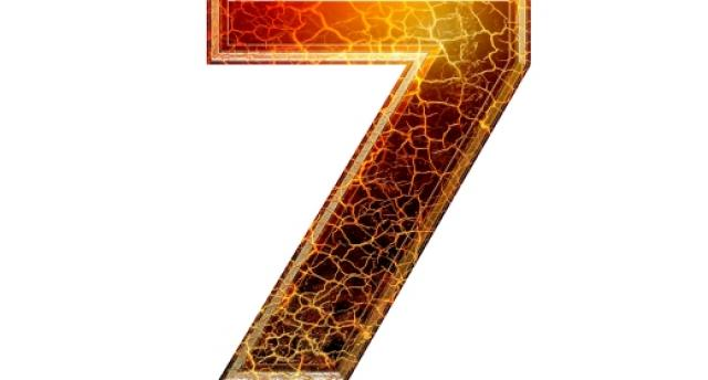 התאמה נומרולוגית למספרי 7