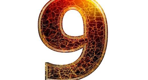 התאמה נומרולוגית למספרי 9