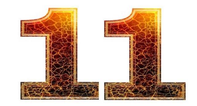 התאמה נומרולוגית למספרי 11