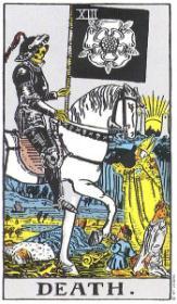 משמעות קלף המוות בקריאה בקלפים
