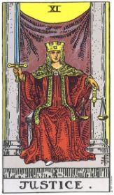משמעות קלף הצדק בקריאה בקלפים