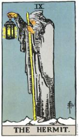 משמעות קלף הנזיר בקריאה בקלפים