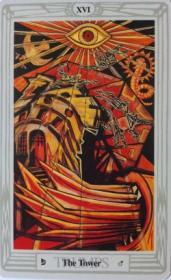 קלפי טארוט: קלף המגדל